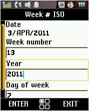 Week Number