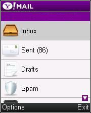 Powerful mail client for your Java phone